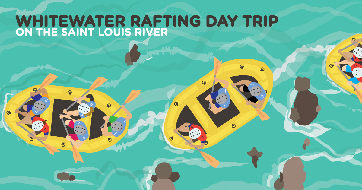 Whitewater Rafting Day Trip