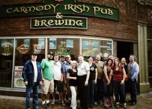 Carmody Irish Pub & Brewing - North Shore Brewery Tour - GetKnit Events - Duluth MN