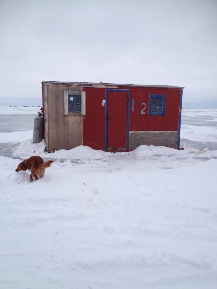 Ice Fishing Minnesota Winter