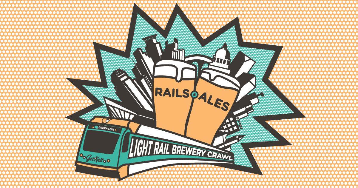 Rails & Ales: Light Rail Brewery Crawl