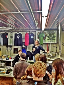 Tour at Castle Danger Brewery Two Harbors GetKnit Events MN