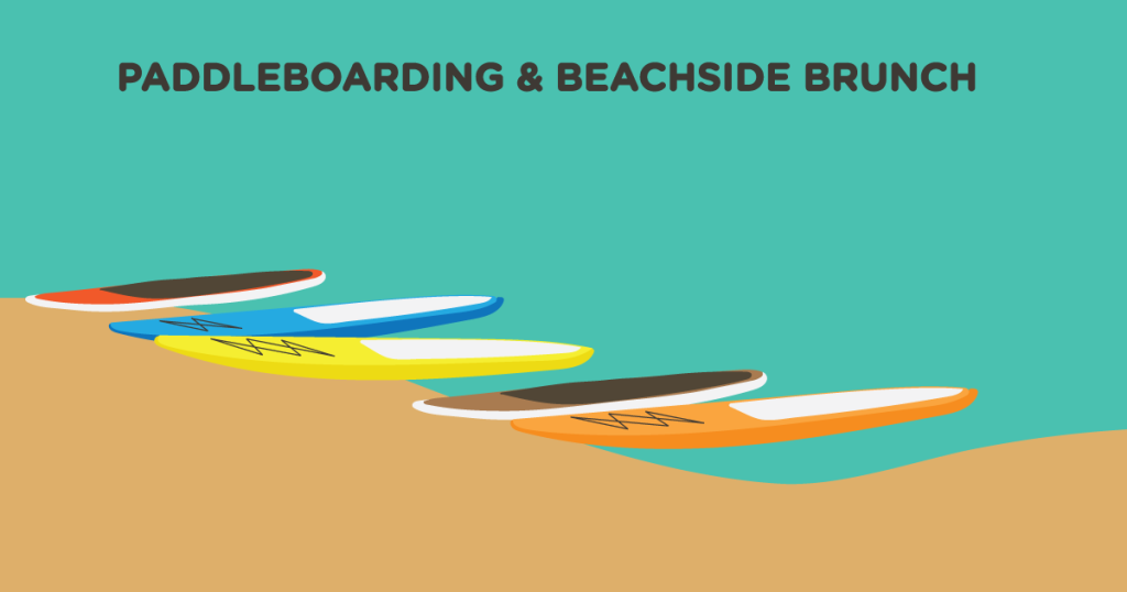 Paddleboarding and Beachside Brunch