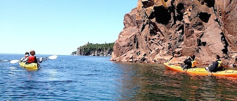 Lake Superior Sea Kayaking Day Trip