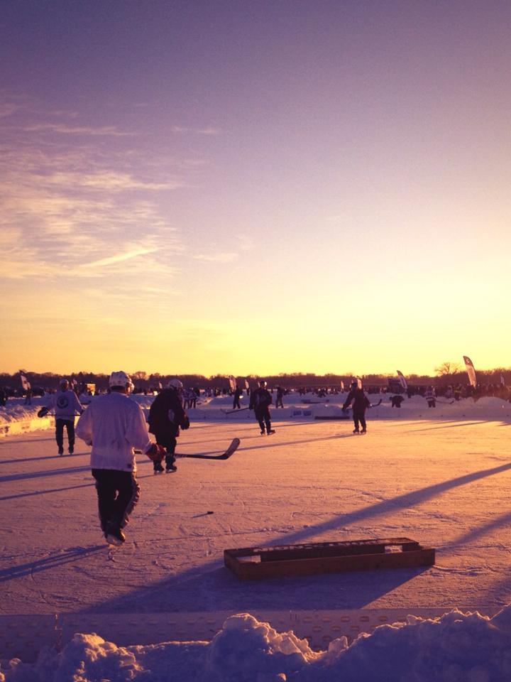 2013 Pond Hockey - GetKnit Events