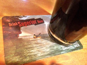 Drink Superior Beer Coaster Tycoons Duluth GetKnit Event