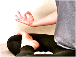 Close-up of yoga at getknit events