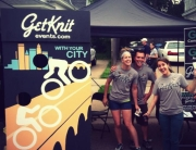 GetKnit at the Nature Valley Bike Race