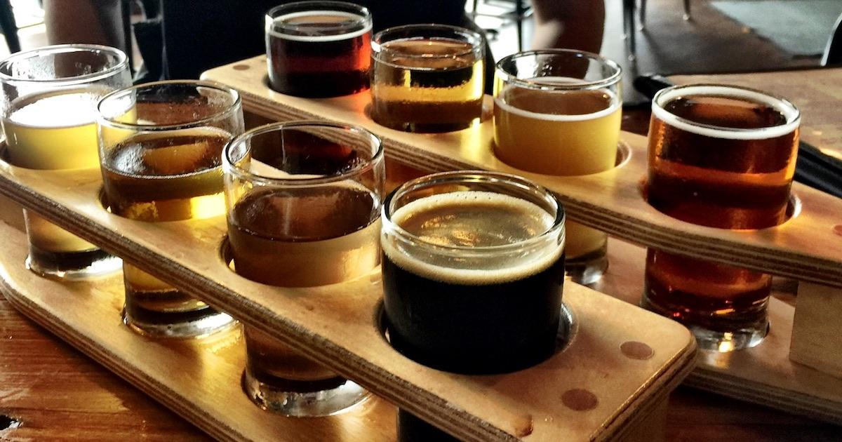 Tasting beers !
