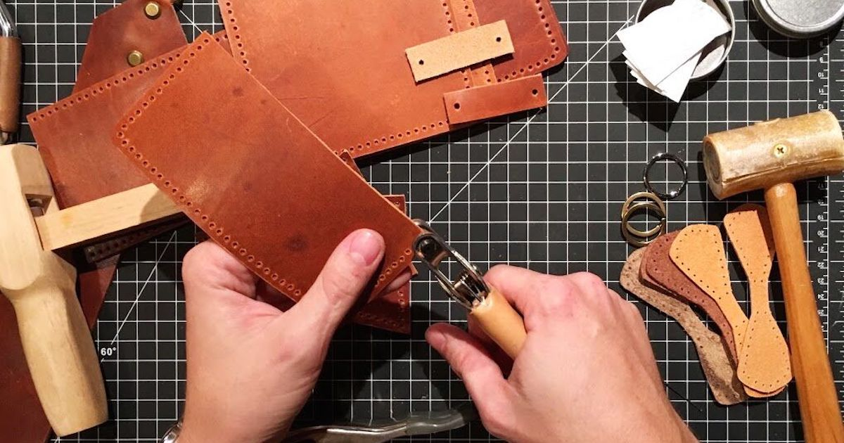 Let's make a leather belt!