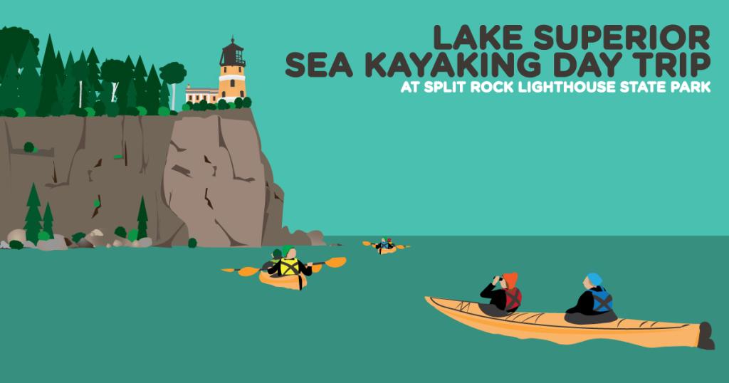 Lake Superior Sea Kayaking Day Trip