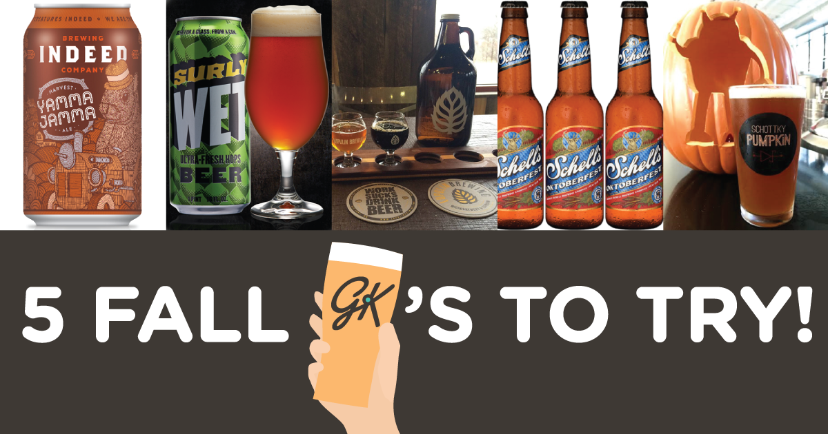 5 Minnesota Beers to Try This Fall