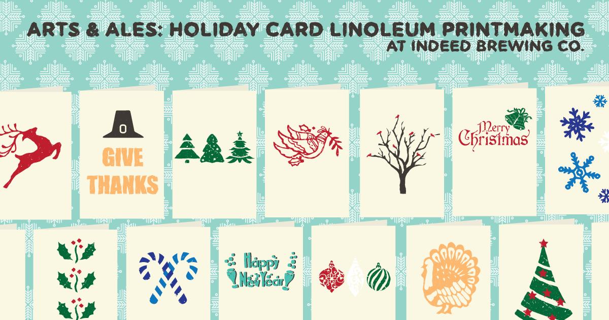 Linoleum Printmaking!