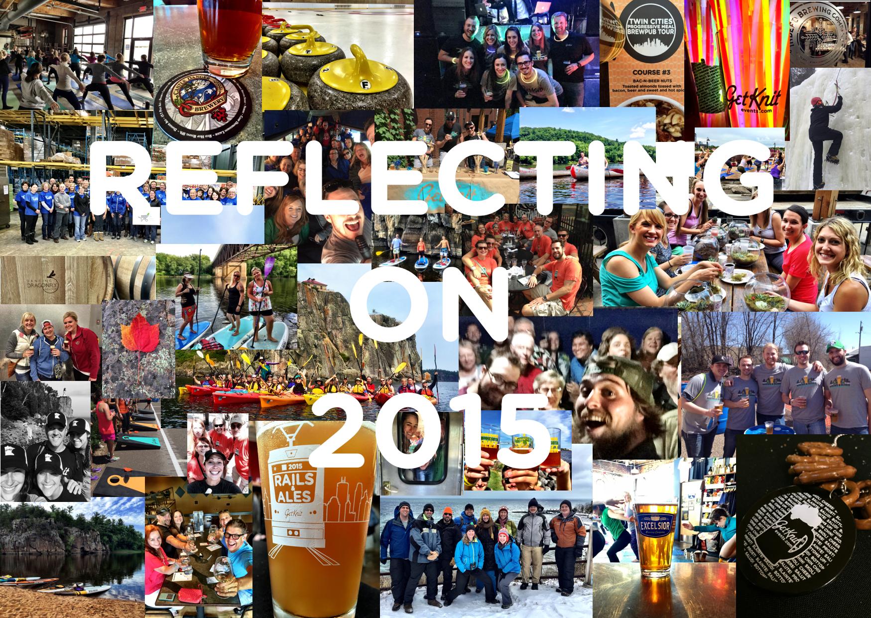 Reflecting & Celebrating 2015