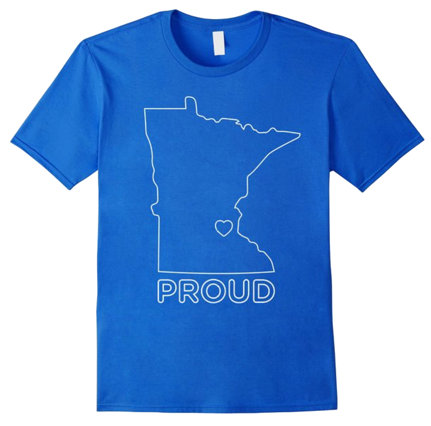 Minnesota Proud Outline