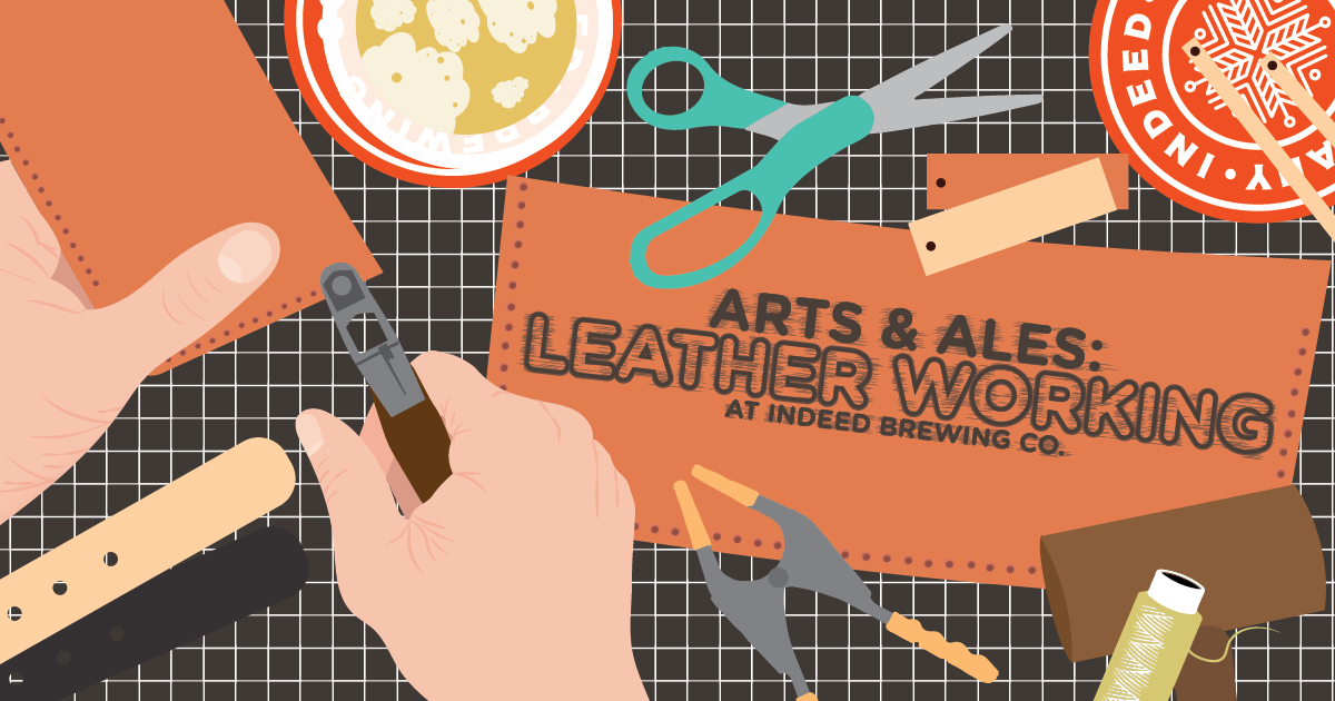 Arts and Ales Leather Working