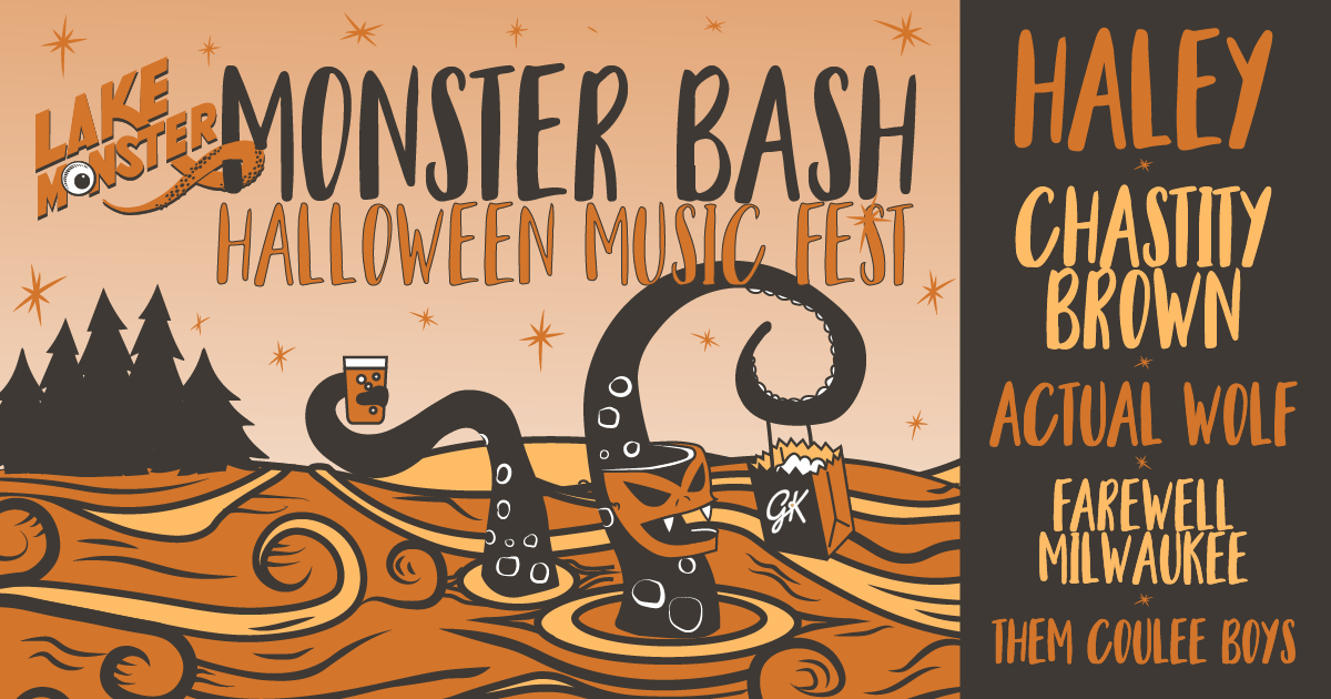 lake monster bashhalloween music fest - Minneapolis Halloween Events