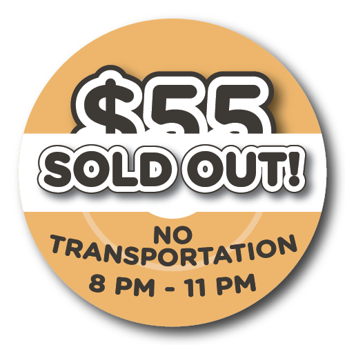 $55 - NO Transportation