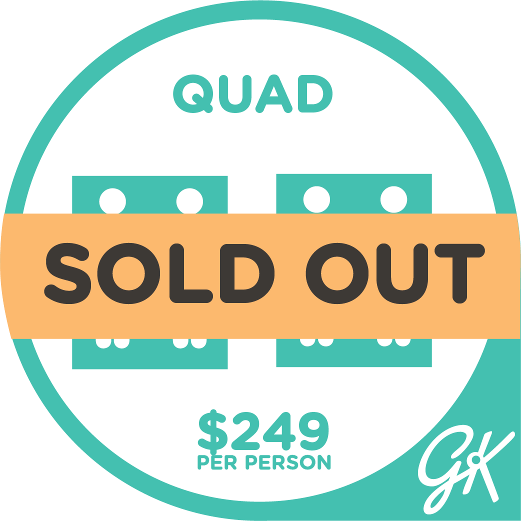 Sold out Quad Package